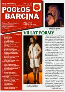Pogłos Barcina - maj 2016