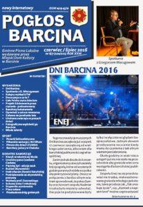 Pogłos Barcina – czerwiec/lipiec 2016
