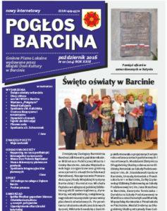Pogłos Barcina – październik 2016
