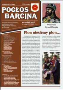 Pogłos Barcina – wrzesień 2016