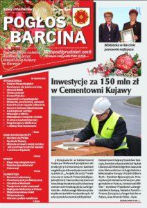 Pogłos Barcina – listopad/grudzień 2016