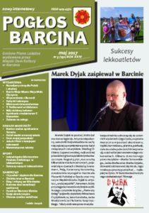 Pogłos Barcina – maj 2017
