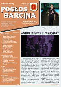 Pogłos Barcina – pażdziernik 2017