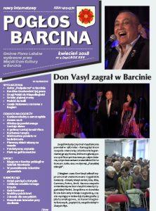 Pogłos Barcina – kwiecień 2018
