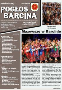 Pogłos Barcina – wrzesień 2018