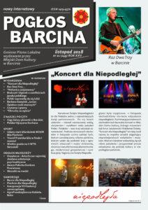 Pogłos Barcina – listopad 2018