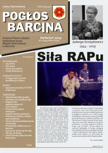 Pogłos Barcina – kwiecień 2019