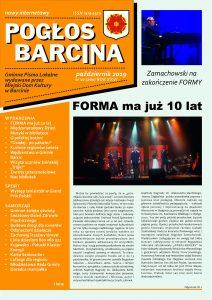Pogłos Barcina – Październik