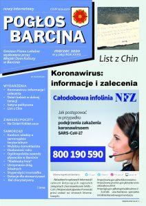 Pogłos Barcina – marzec 2020