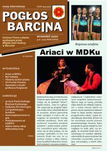 Pogłos Barcina – wrzesień 2020